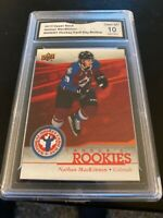 2013 Nathan Mackinnon Rookie Card GMA 10