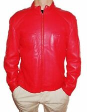 Versace Leather Biker Jackets for Men