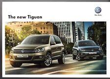 Volkswagen Tiguan 2011-12 UK Market Sales Brochure S SE Sport Escape