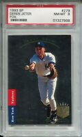 1993 SP Foil Baseball 279 Derek Jeter Rookie Card RC Graded PSA Nm MINT 8 93
