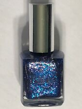 """NEW PURE ICE NAIL POLISH """"LOOK MY WAY"""" BLUE GLITTER LACQUER ENAMEL"""