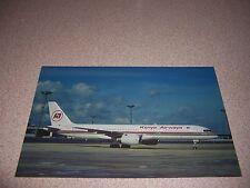 KENYA AIRWAYS BOEING B-757-23A at ORLY AIRPORT PARIS POSTCARD