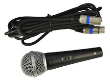 Dynamic Vocal Microphone Supplied With Cable By Lyonforge
