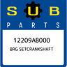 12209AB000 Subaru Brg setcrankshaft 12209AB000, New Genuine OEM Part