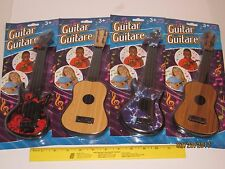 "Toy Guitar 11"" w/4 Strings - Pretend Play, Toddlers, Music, Acoustic, Electric"