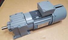 SEW Eurodrive Helical Gearmotor 1700/123RPM 20mm Shaft .75kW 277/480VAC 3P TEFC