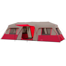 Ozark Trail 15 Person 3 Room Split Plan Instant Cabin Tent
