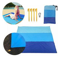 Large Beach Mat Anti-Sand Rug Picnic Blanket Waterproof Camping Travel Garden