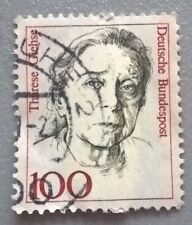 Germany stamps - Therese Giehse (1898-1975)   1988 100 fen - FREE P & P