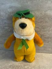 "Vintage Yogi Bear Plush Hanna Barbera 1988 8"" Boo Boo Doll Stuffed Animal"
