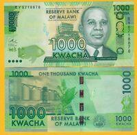 Malawi 1000 Kwacha p-62 2017 UNC Banknote