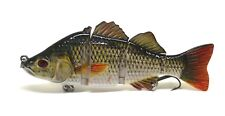 6inch Largemouth Bass Striper Pike Muskie Lure Fishing Bait Life-like