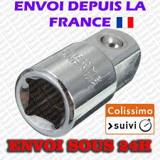 Dax® Douille adaptateur 3/8 Femelle VERS 1/2 Male Outillage Auto