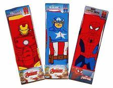 Iron Man Capitaine Amérique Chausson Chaussettes W/Anti-dérapant Semelles