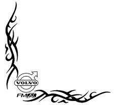 VOLVO FMX Side Window Decals Stickers x 2