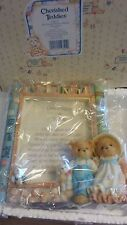 1994 Cherished Teddies, 128112, Once Upon A Teddy, Jack Jill Nursery Rhyme Frame