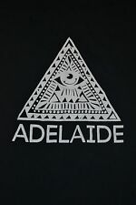 Adelaide Band Logo T Shirt Small Illuminati Christian Death Metal Tennessee TN
