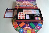 LOGO BILLIONAIRE BOARD GAME. DRUMOND PARK 2013 CONTENTS COMPLETE AND EXCELLENT