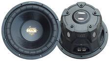 NEW Lanzar MAXP104D Max Pro 10'' 1200 Watt Small Enclosure DVC 4 Ohm Subwoofer