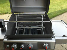 "Rotisserie add on kit attachment for Gas Grills adds 2 more 19"" skewers"