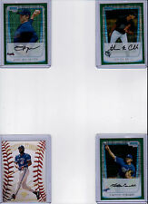 2011 BOWMAN CHROME PROSPECTS #BCP152 JAKE THOMPSON GREEN PARALLEL RC