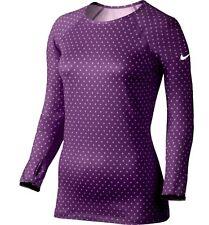 Nike Pro Hyperwarm Printed II Women's Shirt 577164 Medium