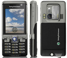 Sony Ericsson C702 Black 3G Cell Phone free shipping