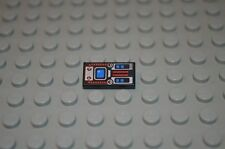 00539 LEGO Tile 1 x 2 Blue screen 6959 6949 6331 6705 1793 2161 8246 pattern
