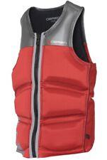O'Brien Men's Wake Competition Vest (M) Silver/Maroon