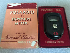 Vintage Polaroid Light Exposure Meter By General Electric PR-22 With Box