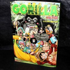 ONE PIECE COLOR WALK 6 GORILLA EIICHIRO ODA ANIME MANGA ART BOOK NEW