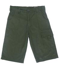Pantalones cortos niño,shorts de Newness , verde  ,talla 14