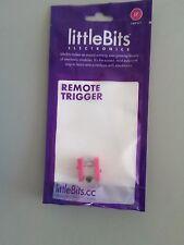 Little Bits Remote Trigger Bit littleBits Electronics DIY lego maker circuit
