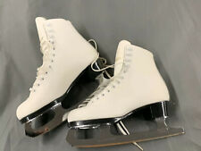 Rare Daoust Canada Figure Skates w/ John Wilson Sheffield England Blades Size 6