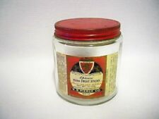 Glass Collectable Cream & Preserve Pots