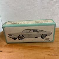 Tin Toys Car Tinplate Ford Mustang Bansei Toy HAJ I Friction Powered Vintage