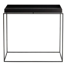 Tray Table Beistelltisch Schwarz Side table rectangular Hay