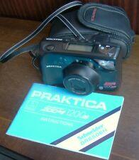 Vintage Praktica SUPER ZOOM 1200 af35mm compatta Fotocamera a pellicola. 38 - 120mm Zoom