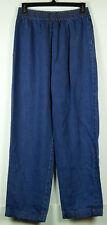 AKS Amy K Su for Nordstrom Blue Denim 100% Tencel Crop Jeans w/ Elastic Waist M