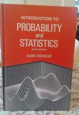 INTRODUCTION TO PROBABILITY & STATISTICS-6th EDITION-ALDER & ROESSLER-1977