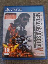 Metal Gear Solid V la experiencia definitiva PS4
