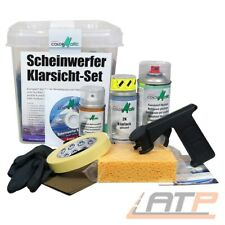 COLORMATIC SCHEINWERFER KLARSICHT SET REINIGUNGS PUTZ REPARATUR SET KIT 31434326