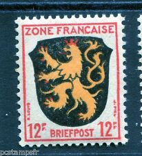 ALLEMAGNE, OCCUPATION FRANCAISE, 1945, timbre 6, ARMOIRIES PALATINAT neuf**, MNH