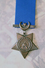 BRITISH EGYPT ARMY NAVY KHEDIVES STAR MEDAL BRONZE