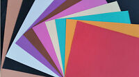 10 X WamiQ A3 FUNKY ART & CRAFT FOAM SHEETS-CHOICE OF 10 COLOURS-500 mm X 350 mm