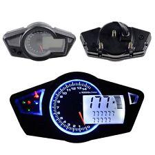 Motorcycle 15000 RPM Multi Function Odometer Speedometer Tachometer Gauge