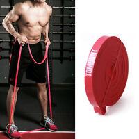 Bandas de Fitness Resistencia para Strength Recovery Potencia Caucho Yoga ROJO