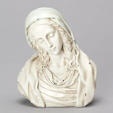 """Sale! Roman 8"""" Madonna Bust Antiqued Look Resin Mary Mother Catholic New!"""