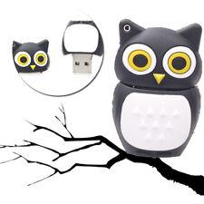 1pc 16GB Owl Black Bird USB Flash Thumb Drive USA Shipper