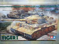Tamiya 1/35 Pz.kpfw.vi Ausf.e Tiger i Late Versione Ace Commander Modello Kit